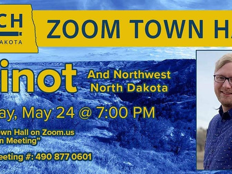 Zach Raknerud Announces Series of Zoom Town Halls