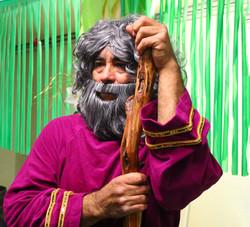 Pastor Joe as Moses
