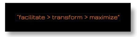 facilititate transform