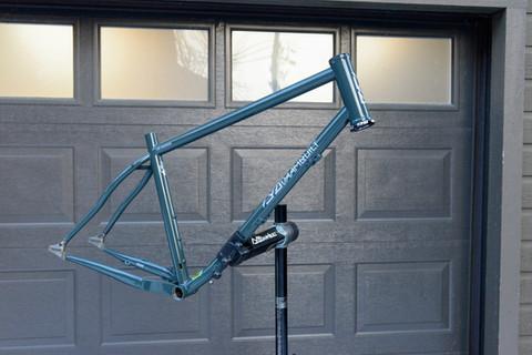 27.5+ Belt Drive Bikepacking Hardtail Frame, Fork and two Racks
