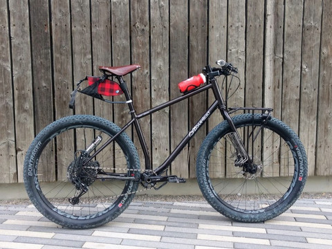 29+ Mountain Bike, including frame, fork and rack!