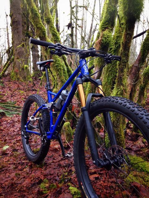 27.5 Plus Full Suspension Mountain Bike