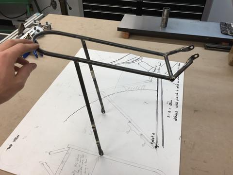 Custom Bikepacking Rack