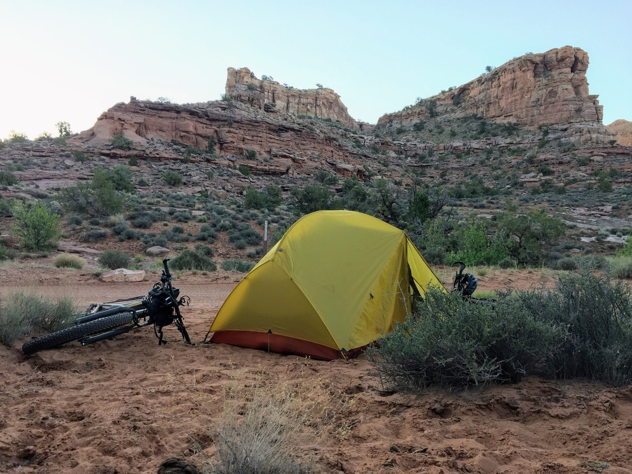 Kane Creek Bikepacking