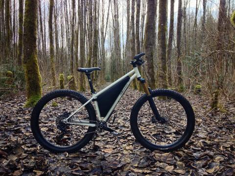 27.5 Plus Hardtail Mountain Bike