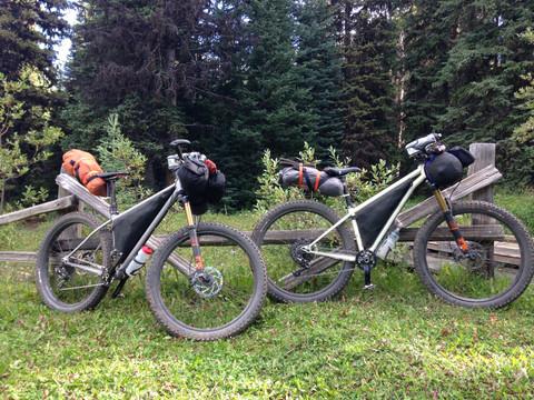 Chilcotin Bikepacking Trip