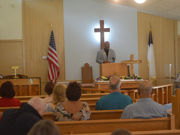 Glenn Speaks at DeLand Wesleyan Church!
