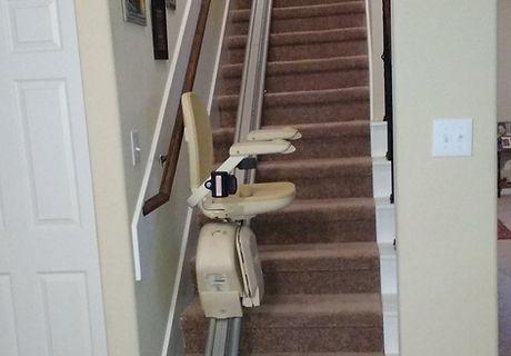 Straight Stair Chair
