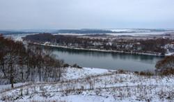Вид с территории базы отдыха на Оку