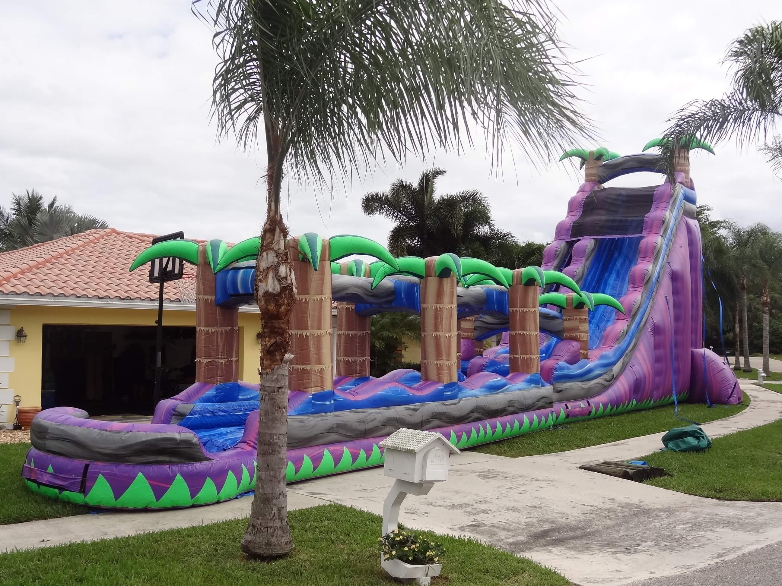 Toboggan aquatique Paradise Slide