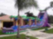 Paradise slide gonflable joker prod