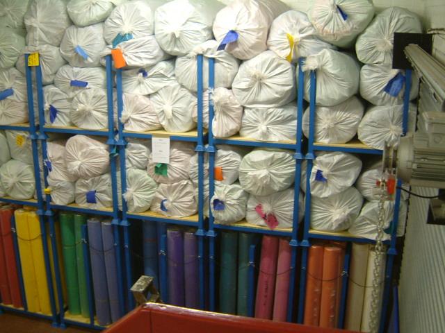 Stock PVC atelier