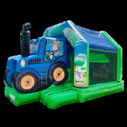 Combo Tracteur châteaux gonflables