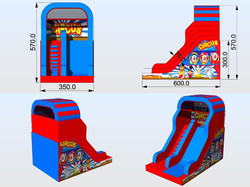 Toboggan Circus Slide