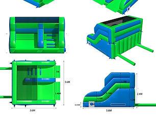 bbol-216-12x12x8ft-5ft-junior-slide-gree