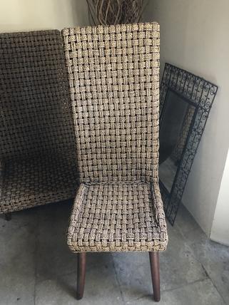 Chaises en Kubu