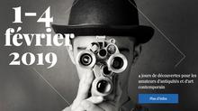 A VENIR : Le salon Antiquités & Art Fair au Luxembourg du 1er au 4 Février 2019.