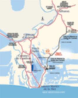 itinéraire mas bardouine