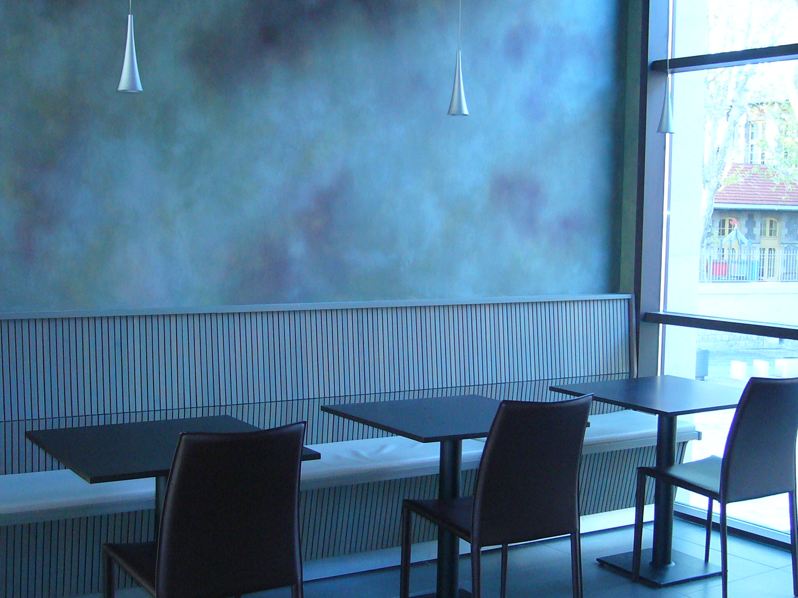 Banquettes restaurant Le Chapitre