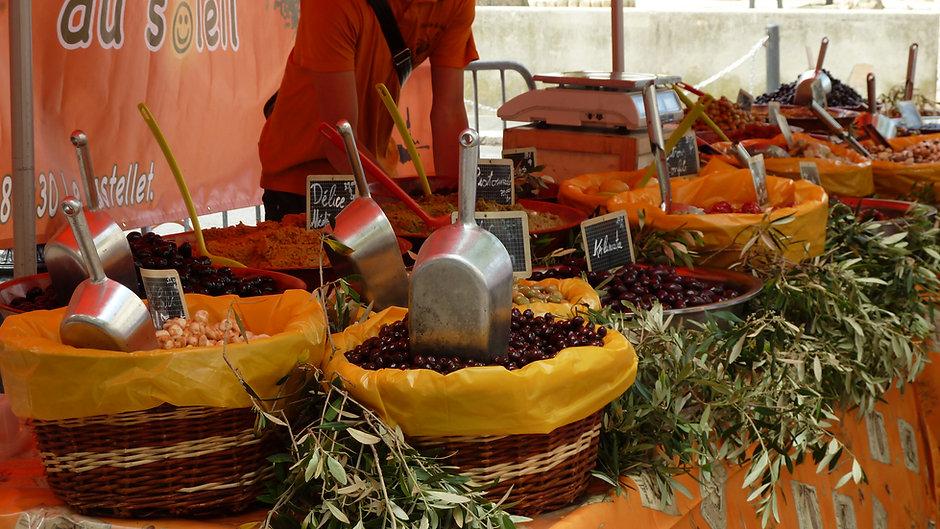 marché provencal le lavandou