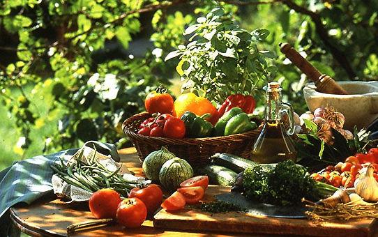 Légumes et fruits frais de provence