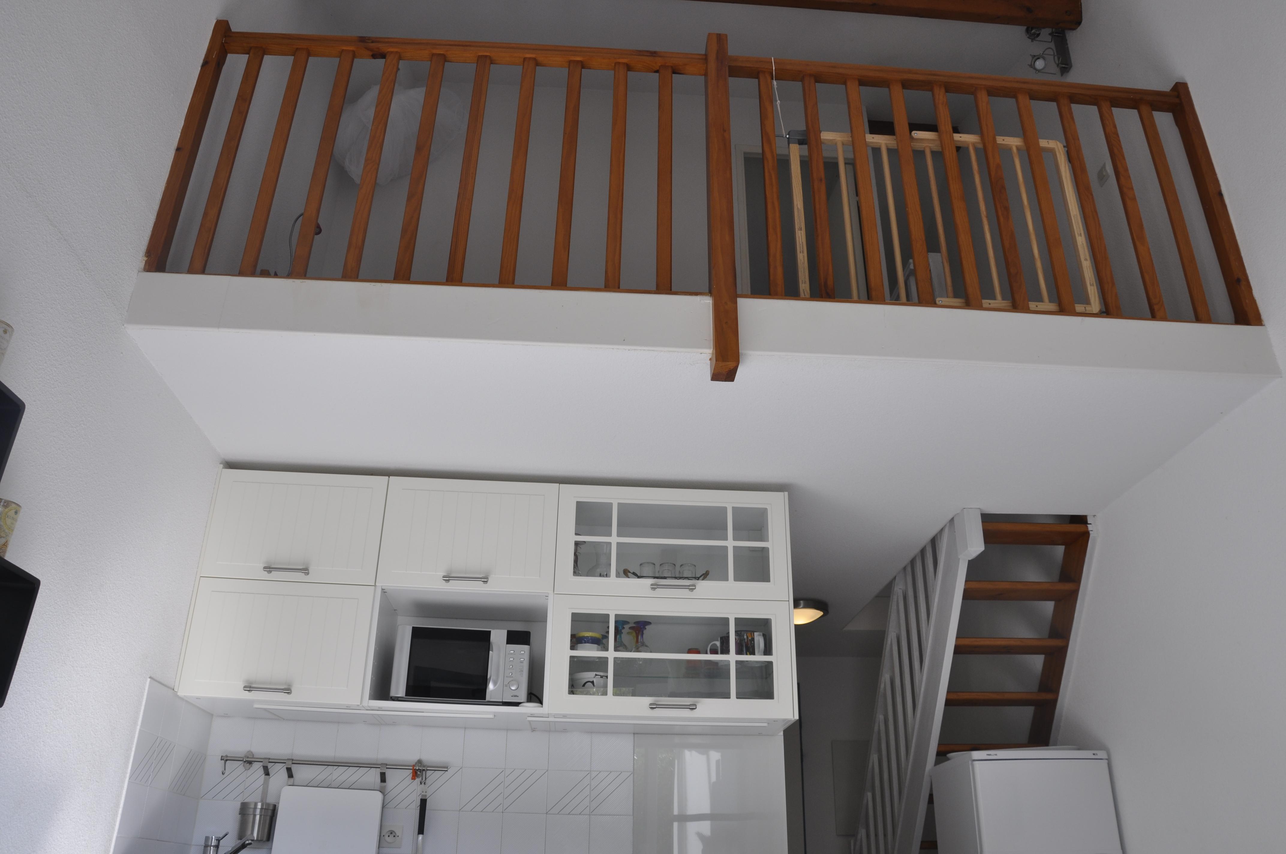 Au 1er étage, mezzanine