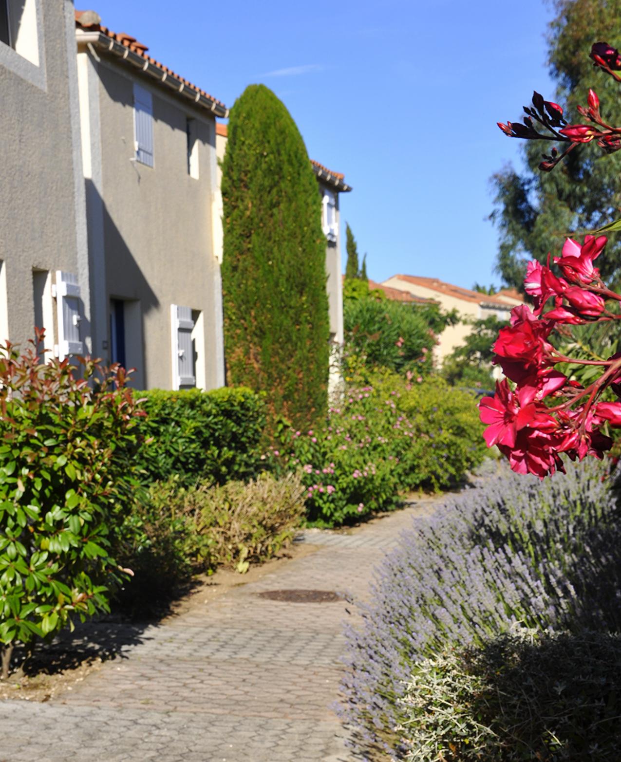 Une résidence fleurie et calme