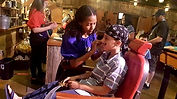 Pirate Voyage my nephew face painting Pi