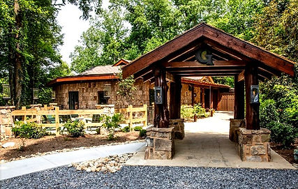 exterior view of Greenbrier Restaurant, Gatlinburg, TN