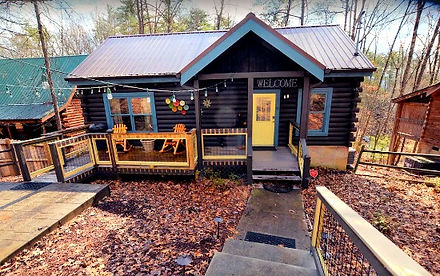 Firefly Hollow, cabin near The Island in Pigeon Forge, Tennessee, exterior view
