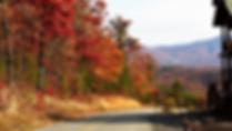 Wears Valley cabin in Fall
