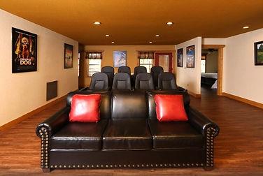 Firefly Nights Cabin with elevator Gatlinburg TN, theater room