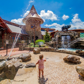 Anakeesta Splash Pad, Gatlinburg, TN