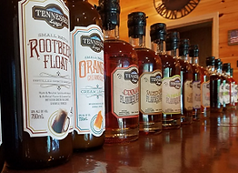 Tennessee Legend Whiskey lineup