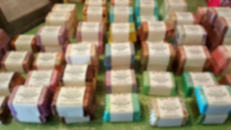 Homemade handcrafted soaps from the Arts and Crafts Community