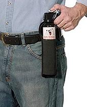 bear spray in holster