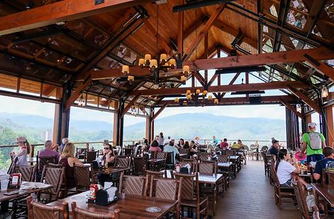 Anakeesta Clifftop Restaurant Gatlinburg