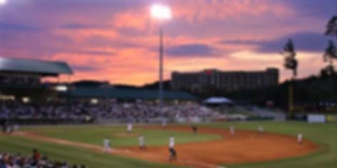 Smokes Baseball Stadium, baseball game, Sevierville TN