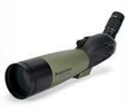 Example of angled spotting scope