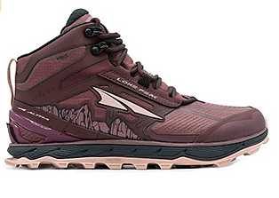 Altra Lone Peak Womens mid rise tail run