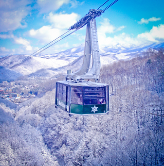 Ober aeriel tram, Ober Gatlinburg tram, aerial tram