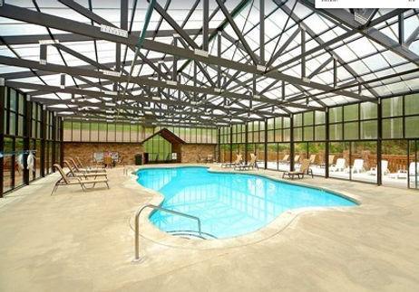 Cabin with elevator Hidden Springs Resort indoor pool, pigeon forge
