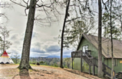 Camp Runamuck Cabin in Pigeon Forge near Dollywood pet friendly and kid friendly
