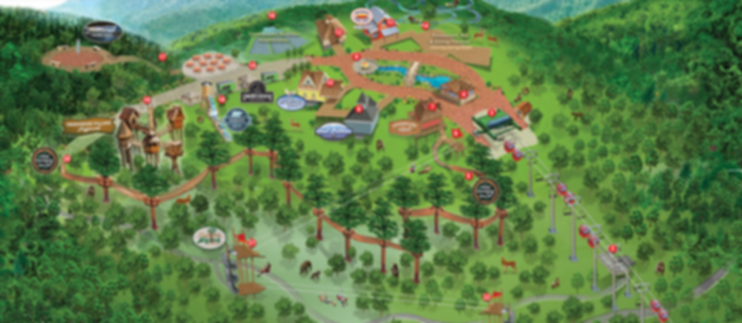 Map of Anakeesta Adventure Park