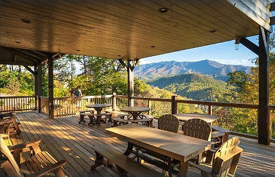 Greystone Retreat, Large Gatlinburg vacation rental for groups with handicap access, deck and mountain view