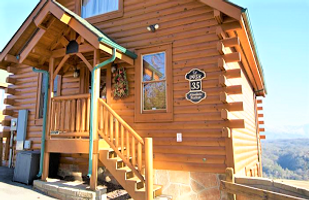 1 Bedroom honeymoon cabin pictures, Cabin in Legacy Mountain, near Dollywood, Gatlinburg, Pigeon Forge, for honeymooners