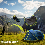 10 second tent Family Camping tent