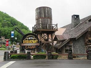 Crocketts Breakfast Camp in Gatlinburg Tennessee, exterior