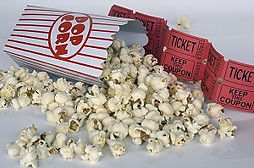popcorn and attraction tickets