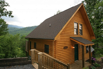 Mountain Paradise honeymoon cabin 1BR cabin in Gatlinburg TN